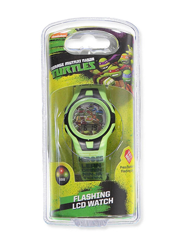 TMNT Flashing LCD Watch - CookiesKids.com