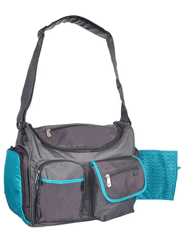 Fisher-Price Deluxe Wide Opening Diaper Bag with Changing Pad - CookiesKids.com