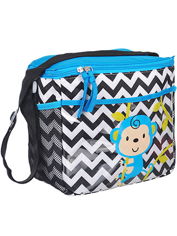 "Tender Kisses ""Monkey Zigzag"" Bottle Bag - CookiesKids.com"