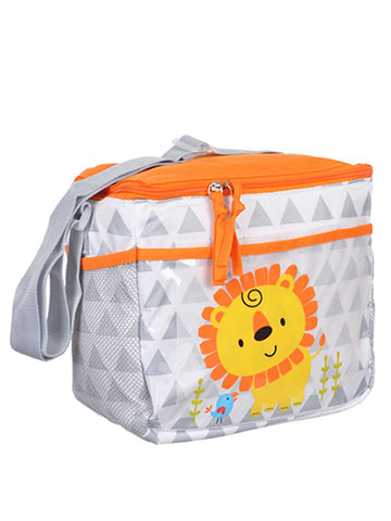 "Tender Kisses ""Lion Triangles"" Bottle Bag - CookiesKids.com"