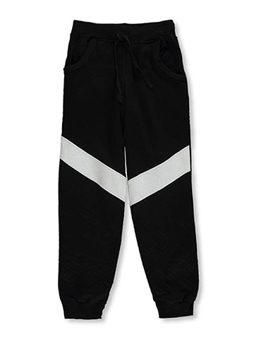 "Quad Seven Little Boys' ""Slash & Quilt"" Joggers (Sizes 4 – 7) - CookiesKids.com"