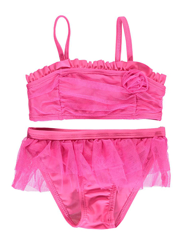 "2 B Real Baby Girls' ""Coral Way"" 2-Piece Bikini - CookiesKids.com"