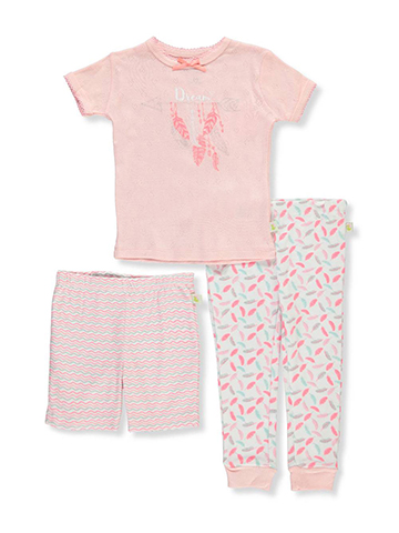Duck Duck Goose Baby Girls' 3-Piece Pajama Set - CookiesKids.com