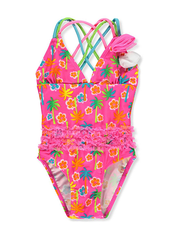Real Love Baby Girls' 1-Piece Swimsuit - CookiesKids.com