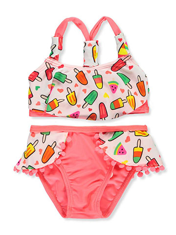 Real Love Baby Girls' 2-Piece Bikini - CookiesKids.com