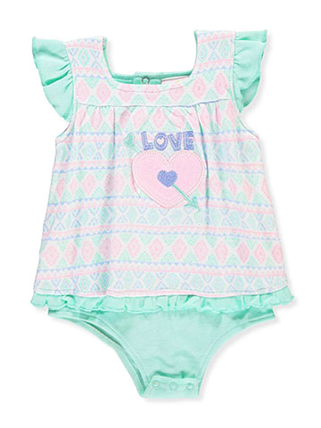 Duck Duck Goose Baby Girls' Dress/Bodysuit Combo - CookiesKids.com