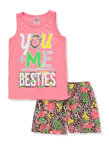 1000% Cute Girls' 2-Piece Pajamas - CookiesKids.com