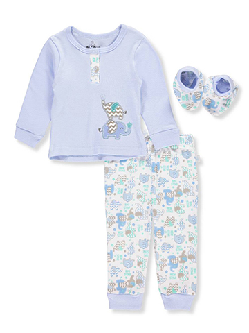 Duck Duck Goose Baby Boys' 3-Piece Layette Set - CookiesKids.com