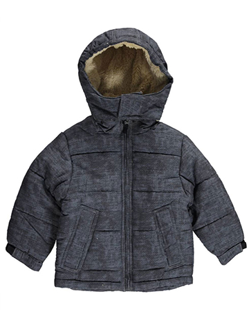 "London Fog Little Boys' ""Snow Static"" Jacket (Sizes 4 – 7) - CookiesKids.com"