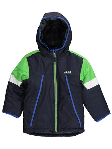 "London Fog Little Boys' ""Bristol"" 4-in-1 System Jacket (Sizes 4 – 7) - CookiesKids.com"