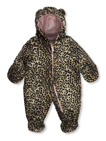 "Carter's Baby Girls' ""Winter Leopard"" Pram Suit - CookiesKids.com"