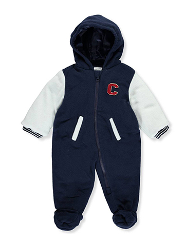 Carter's Baby Boys' 1-Piece Pram Suit - CookiesKids.com