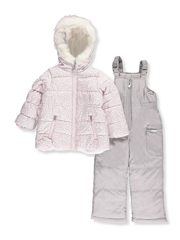 Carter's Little Girls' 2-Piece Snowsuit (Sizes 4 – 6X) - CookiesKids.com