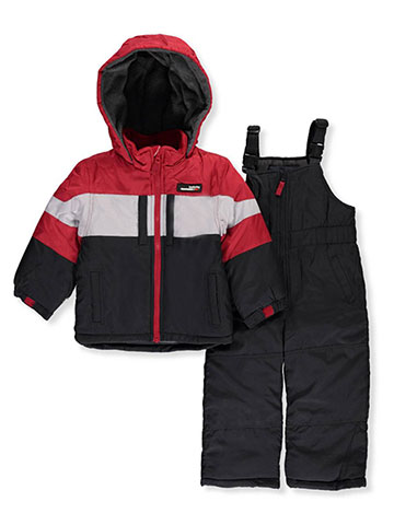 London Fog Little Boys' Toddler 2-Piece Insulated Snowsuit (Sizes 2T – 4T) - CookiesKids.com