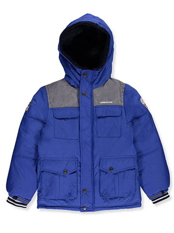 London Fog Little Boys' Toddler Insulated Jacket (Sizes 2T – 4T) - CookiesKids.com