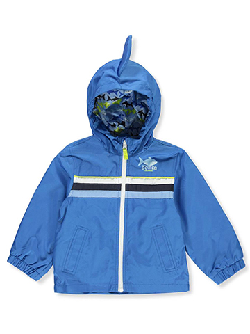 London Fog Boys' Hooded Rain Jacket - CookiesKids.com