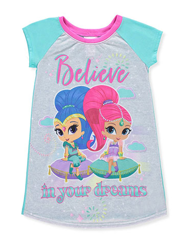 Shimmer and Shine Girls' Nightgown - CookiesKids.com