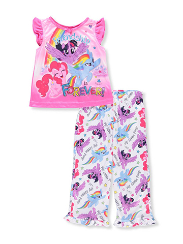My Little Pony Girls' 2-Piece Pajamas - CookiesKids.com