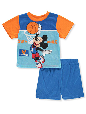 Disney Mickey Mouse Baby Boys' 2-Piece Outfit - CookiesKids.com
