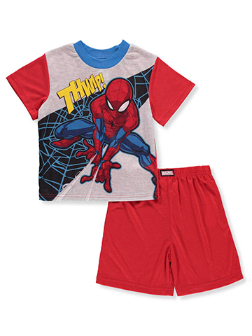 Spider-Man Boys' 2-Piece Pajamas - CookiesKids.com