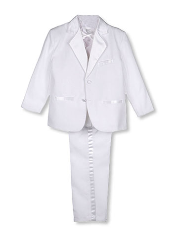 Kaifer Big Boys' 5-Piece Tuxedo (Sizes 8 - 20) - CookiesKids.com