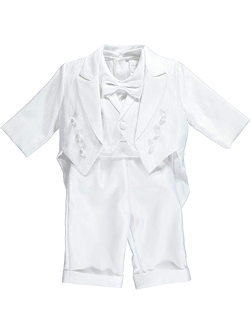 Pretty Me Baby Boys' First 6-Piece Christening Tuxedo - CookiesKids.com