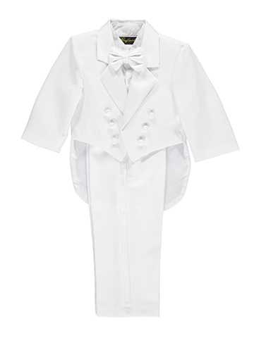 "Angels New York Baby Boys' ""Joshua"" 5-Piece Christening Tuxedo - CookiesKids.com"