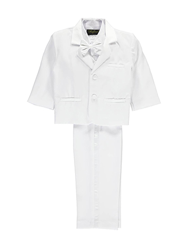 "Angels New York Baby Boys' ""Satin Styled"" 5-Piece Christening Tuxedo - CookiesKids.com"