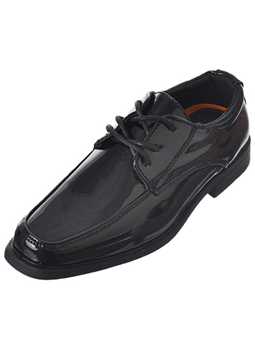 Jodano Collection Boys' Dress Shoes (Youth Sizes 13 – 8) - CookiesKids.com