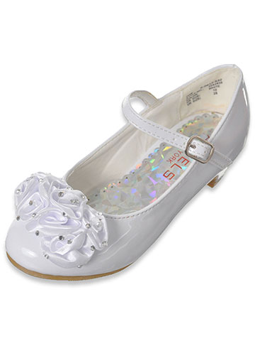 "Angels Girls' ""Gem Bunch"" Mini Pumps (Toddler Sizes 9 – 12) - CookiesKids.com"