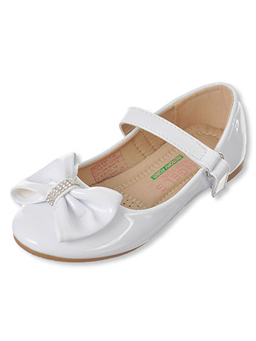 "Angels Girls' ""Jewel Band Bow"" Flats (Toddler Sizes 9 – 12) - CookiesKids.com"