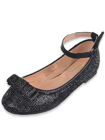 "Angel Girls' ""Allover Gems"" Flats (Toddler Sizes 6 – 12) - CookiesKids.com"