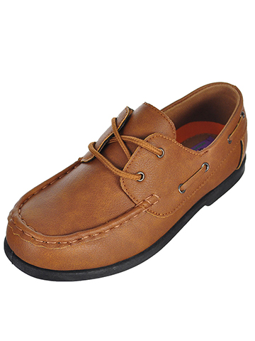 Jodano Collection Boys' Boat Shoes (Sizes 6 – 5) - CookiesKids.com