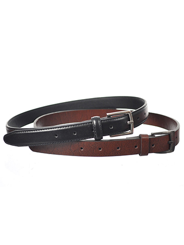 "Beverly Hills Polo Club ""Classic Duo"" 2-Pack Belts (Sizes 22"" – 32"") - CookiesKids.com"