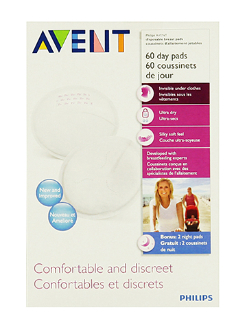 Avent 60-Pack Disposable Day Pads - CookiesKids.com
