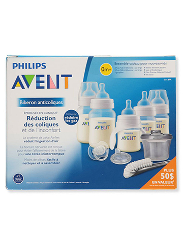 Avent 9-Piece Newborn Starter Bottle Gift Set - CookiesKids.com