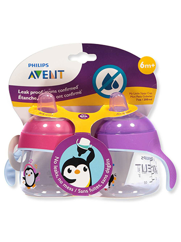 Avent 2-Pack My Easy Sippy Cup (9 oz.) - CookiesKids.com