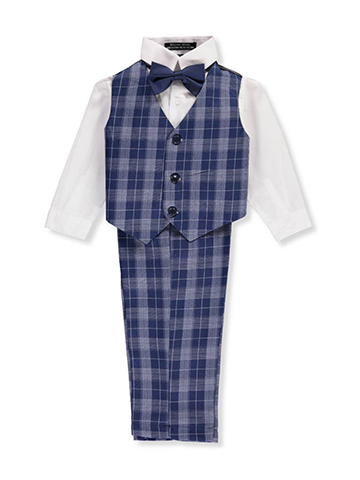 Andrew Fezza Baby Boys' 4-Piece Vest Set - CookiesKids.com