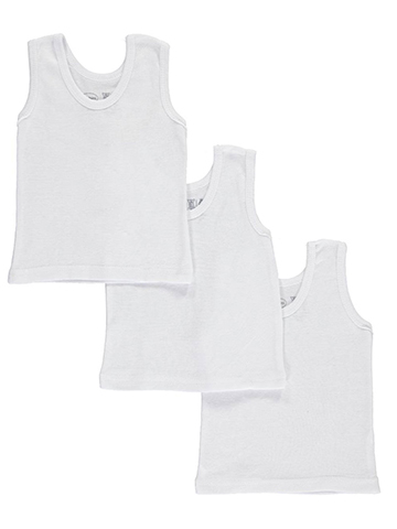 Bambini Unisex Baby 3-Pack Tank Tops - CookiesKids.com