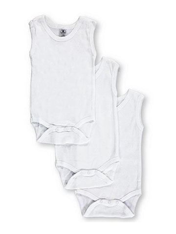 Daydreamers Unisex Baby 3-Pack Sleeveless Bodysuits - CookiesKids.com