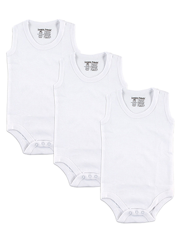 Luvable Friends Unisex Baby 3-Pack Sleeveless Bodysuits - CookiesKids.com