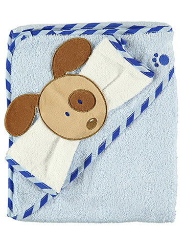 "Luvable Friends ""Puppy"" Towel with Washcloth - CookiesKids.com"