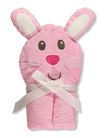 "Luvable Friends ""Bunny Buddy"" Hooded Towel - CookiesKids.com"