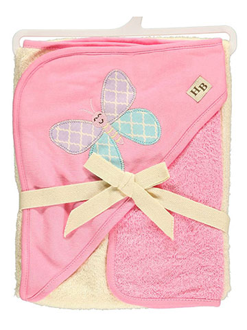 "Hudson Baby ""Butterfly"" Hooded Towel & Washcloth Set - CookiesKids.com"