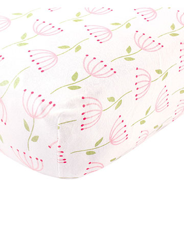 Touched by Nature Organic Cotton Fitted Crib Sheet (28