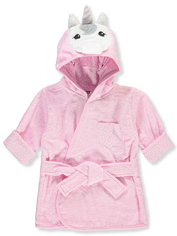 Hudson Baby Baby Girls' Hooded Bathrobe - CookiesKids.com