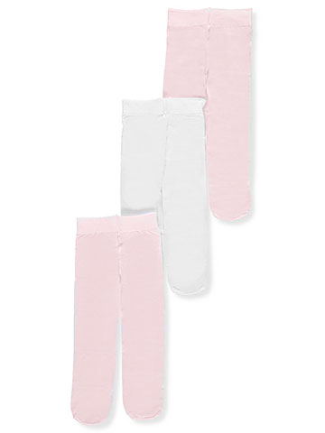 Luvable Friends Baby Girls' 3-Pack Tights - CookiesKids.com