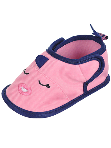 "First Steps by Stepping Stones Baby Girls' ""Whale Kiss"" Water Shoe Booties - CookiesKids.com"
