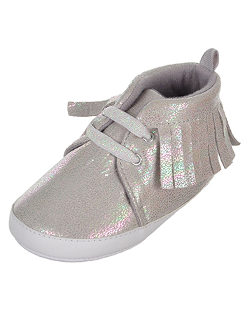 Stepping Stones Baby Girls' Sneaker Booties - CookiesKids.com