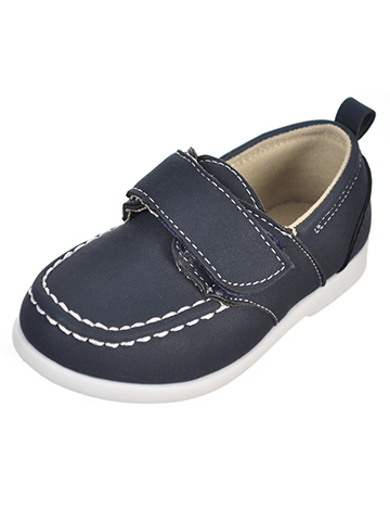 Stepping Stones Baby Boys' Boat Shoes - CookiesKids.com